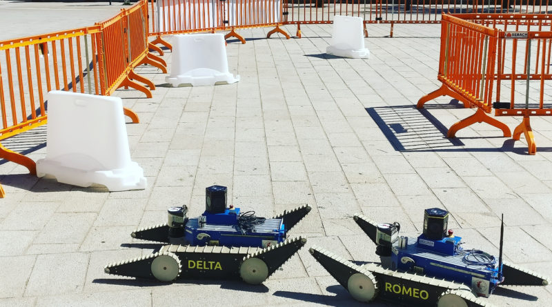 TRADR and Alcor in Piombino for the European Robotics League (ERL) Event